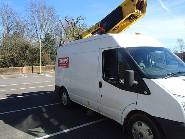 Cherry Picker hire from MAPS Sussex