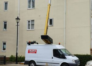12.5m Transit Versalift 36NF available for hire